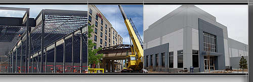 Steel Building Fabrication and Erection in Colorado